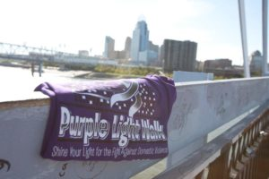 Fifth Annual Purple Light Walk™ @ Fountain Square | Cincinnati | Ohio | United States