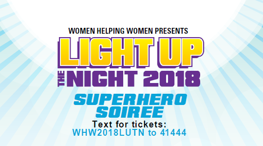 Light Up the Night 2018 – Superhero Soiree